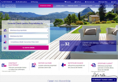 AppMotion | Software Development Company IMODB - Promotion and Monitoring Website for Real Estate Ads