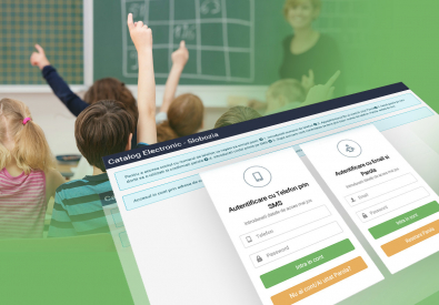 AppMotion | Software Development Company Electronic catalogue for school bookkeeping administration - Inspectorat Slobozia