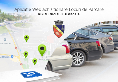 AppMotion | Software Development Company Slobozia City Hall - Web application and Car Parking Reservation System