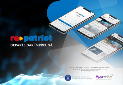 AppMotion - Aplicatii WEB&Mobile | Servicii Software | Custom Repatriot - Aplicatie Mobile pentru listare oportunitati de business si joburi Diaspora