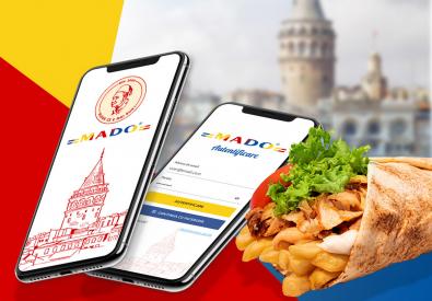 AppMotion - Aplicatii WEB&Mobile | Servicii Software | Custom Mado - Aplicatie Mobile pentru prezentarea meniului restaurantului