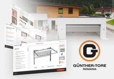 AppMotion - Aplicatii WEB&Mobile | Servicii Software | Custom Gunther Tore - Configurator generare oferta de pret pentru clienti