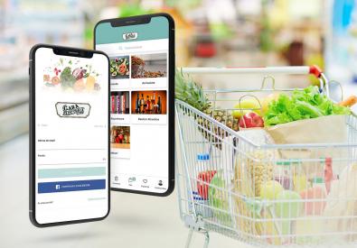 AppMotion - Aplicatii WEB&Mobile | Servicii Software | Custom Non-Stop Podgoria Arad - Aplicatie Mobile pentru comenzi produse alimentare din Supermarket