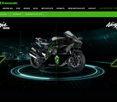 XFactorApp - Custom Software Developers Website - Kawasaki Motorcycles