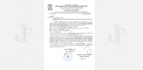Raspuns oficial DSP, Negatie