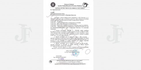 Răspuns oficial MEDIU, Negație