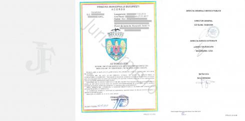 Autorizatia de Functionare pentru activitati DDD în Bucuresti