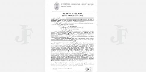 Autorizatie de Construire zona protejata Bucuresti
