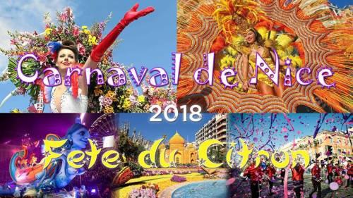 Côte d'Azur & Carnaval de Nice & Fête du Citron