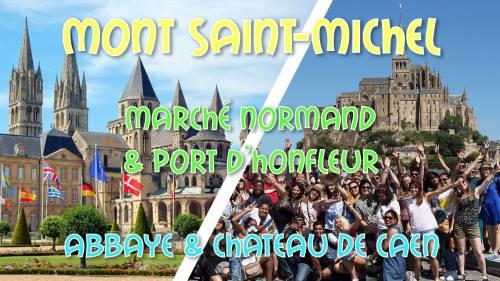 Weekend Mont St-Michel, Honfleur, Deauville & Caen Hotel 3* 95€