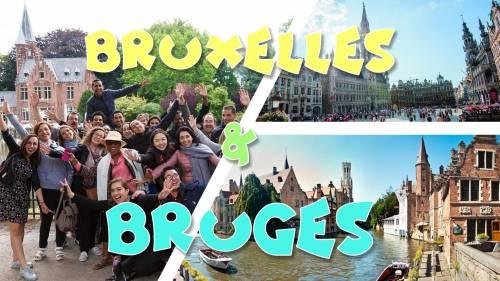 Weekend Bruxelles & Bruges hôtel 3* - 14-15 juillet promo 89,9€