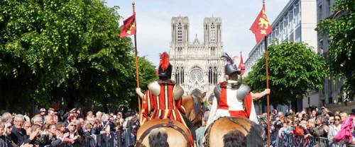 Excursion Fêtes Johanniques 2019- procession royale Jeanne d'Arc
