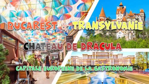 Voyage en Roumanie 6 jours: Château Dracula, Sibiu