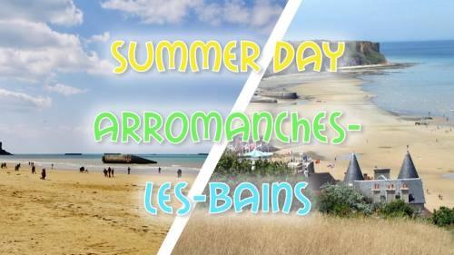 Plage de sable Arromanches les Bains - LONG DAY TRIP