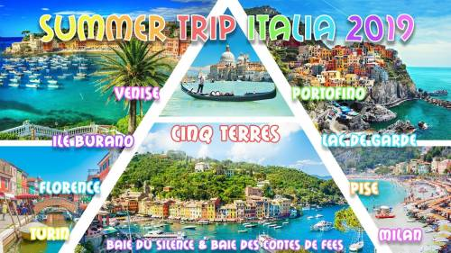 Summer Trip Italia 2019 ☼ Roadtrip août ☼ Cinq Terres, Venise