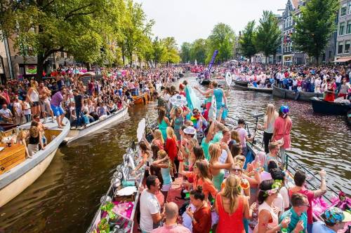 Amsterdam Canal Parade & Street Parties & Gay Pride 2019 - Week-end 3-4 aout