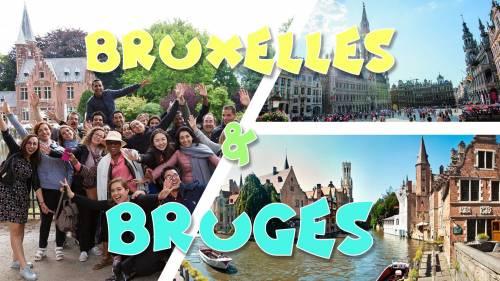 Weekend Bruges & Bruxelles: Flowertime 2019