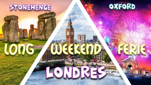 Long week-end férié Londres, Stonehenge, Oxford & Bonfire night