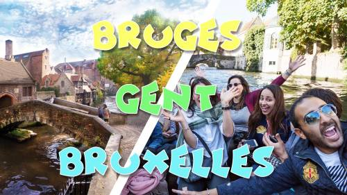 Long weekend férié: Bruges,Gent, Bruxelles & Fete de l'Iris 2020