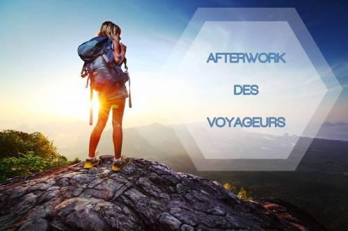 L'Afterwork du Voyageur: verre 2€, entrée gratuite
