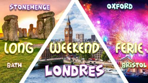 Reporté - Weekend férié Londres, Stonehenge, Bath, Bristol & Oxford 2020