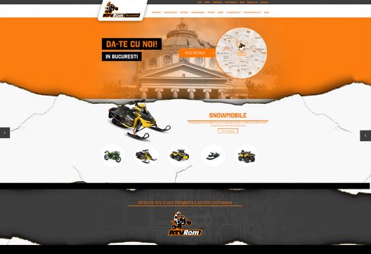 Site Prezentare ATVROM Locale