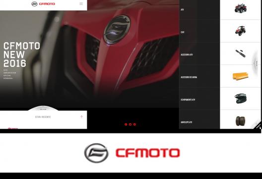 ATV CF MOTO Presentation Website