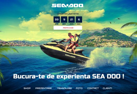 Online Shop with Ski Jets - Sea Doo