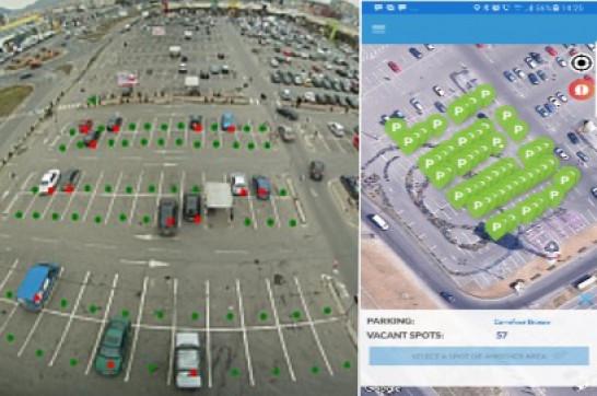 Eutron lansează primul proiect de management al locurilor de parcare cu un mare retailer