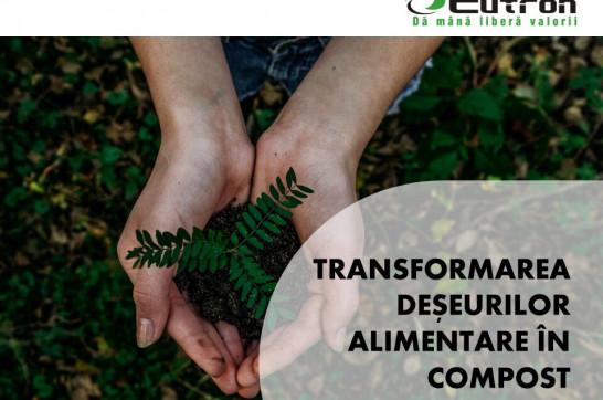 Eutron a prezentat soluțiile de transformare a deșeurilor alimentare în compost la ultima ediție a conferinței Govnet ESG -Sustainability Matters