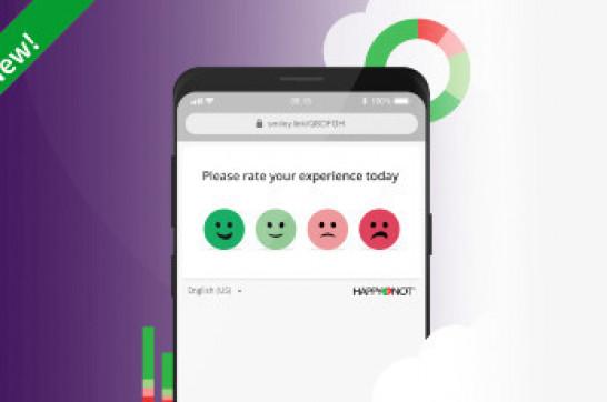 Smiley Digital™ - noul serviciu de evaluare a satisfacției clienților de la HappyOrNot