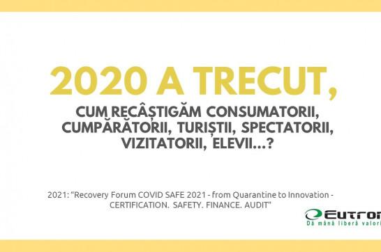 Eutron a participat la comferința Recovery Forum COVID SAFE 2021 - from Quarantine to Innovation organizată de Govnet