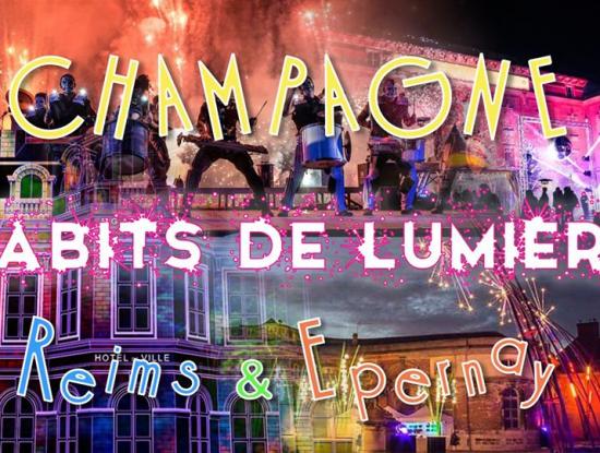 DAY TRIP Champagne Habits de Lumière Epernay + Marché Noël Reims