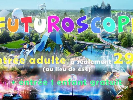 Weekend Futuroscope & Poitiers & Tours