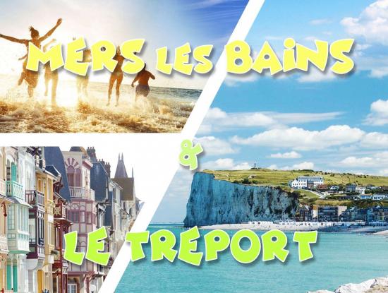 Plage & Falaises ☼ Mers les Bains & Le Tréport ☼ LONG DAY TRI