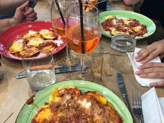Soirée internationale - restaurant italien