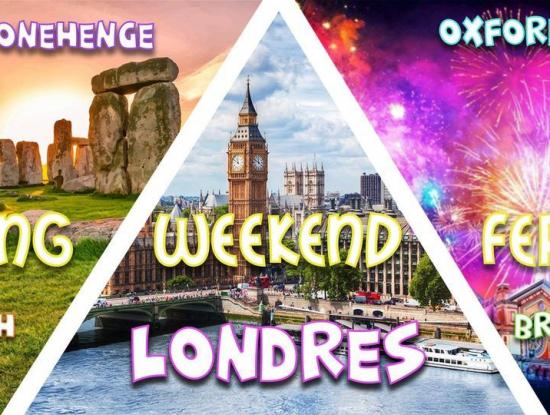 Weekend férié Londres, Stonehenge, Bath, Bristol & Oxford 2020
