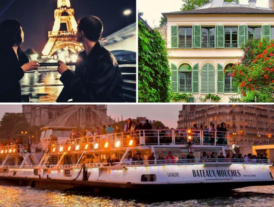 Visite musée, Balade + croisière & soirée