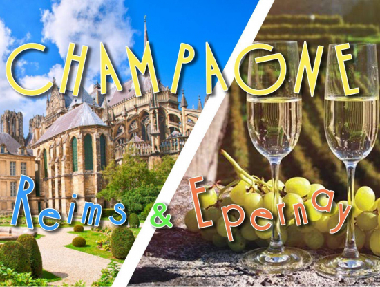 Voyage en Champagne : Reims & Epernay - 15 Mai - DAY TRIP 29,9€