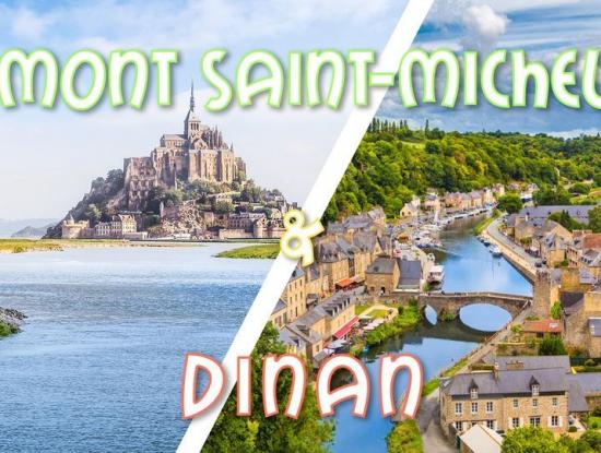 Weekend Mont Saint Michel & Cité médiévale Dinan - 16-17 octobre