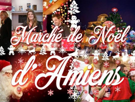 Marché de Noël d'Amiens & Spectacle Chroma & LeTréport - 4 décembre