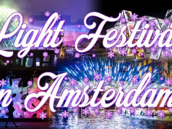 Amsterdam & Light Festival - 4-5 décembre