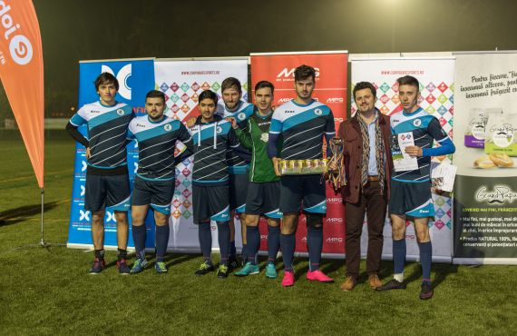 XFactorApp | Software Development Company XFactorApp, second place in football competition between companies