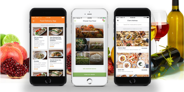 Software FOOD ORDERING APP,  iOS & Android Mobile App