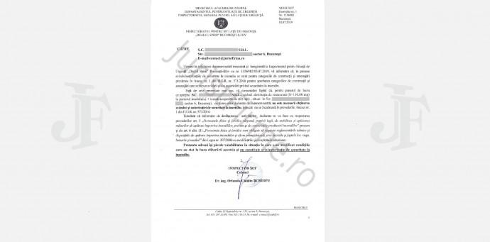 Răspuns oficial ISU, Negație