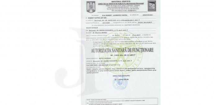 Autorizatii, Notificari sau Raspunsuri DSP